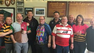 Past Players' lunch with added entertainment