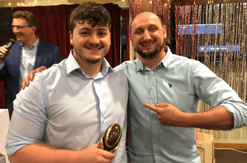 Most Improved - Henry Dalton  (collected by Callum)