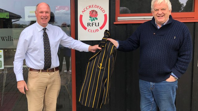 David Vaughan stands down as Chairman of Southwold Rugby