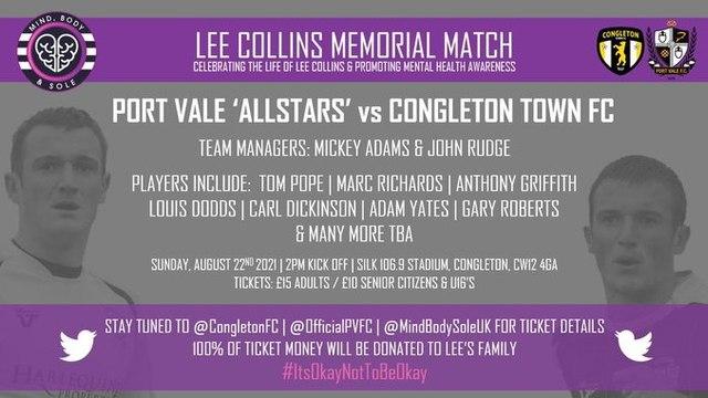 Lee Collins Memorial Match