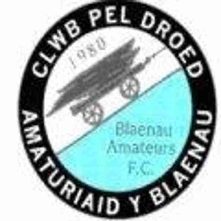 Promotion looms for Blaenau