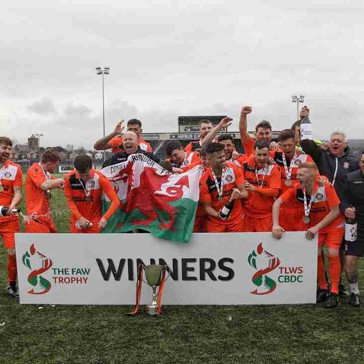 Conwy Borough Win the Welsh Trophy
