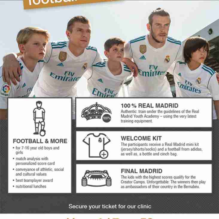 REAL MADRID ARE COMING TO LLANGEFNI FC