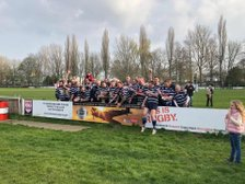 Combe Vets win Spitfire Gold Vets Cup