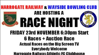 Race Night Friday 23rd November 2018