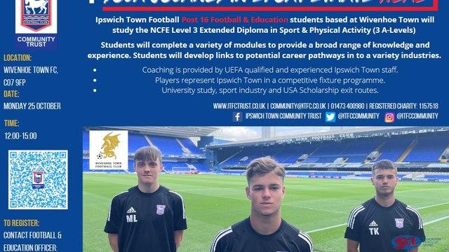 ITFC Football and Education Trials
