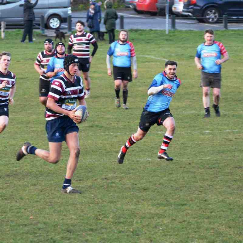 Beccs Bulldogs v HSBC II - 14/12/19