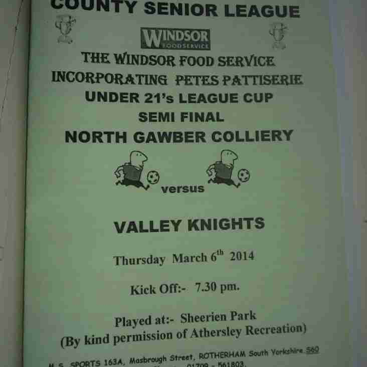North Gawber too strong for Valley Knights