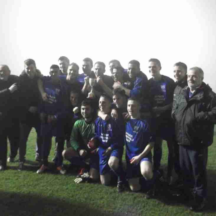 Swallownest Miners Welfare U21 win U21 Cup!