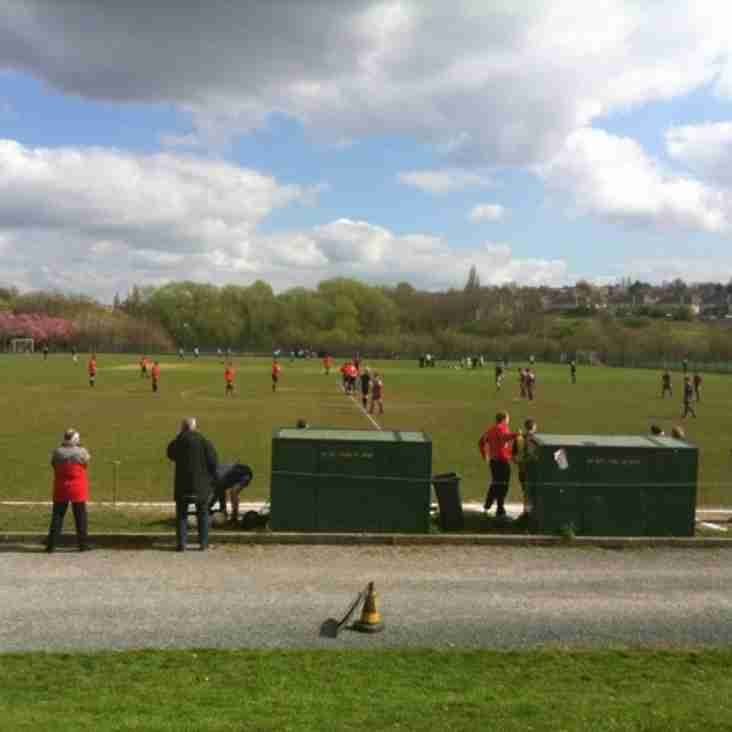 Sheffield Lane Top 3-0 Worsbrough Bridge Athletic Reserves - Match Report