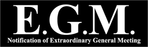 EGM Monday 14th May