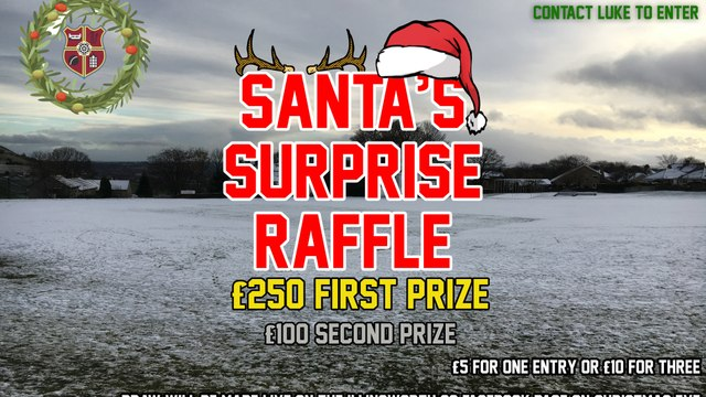 CHRISTMAS RAFFLE NOW ON SALE!!