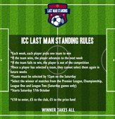 ICC Last Man Standing Competition