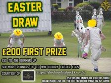 Easter Draw winners
