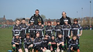 under 9's team photo March 2014