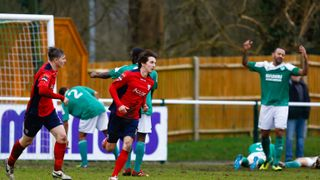 Leatherhead v Hampton