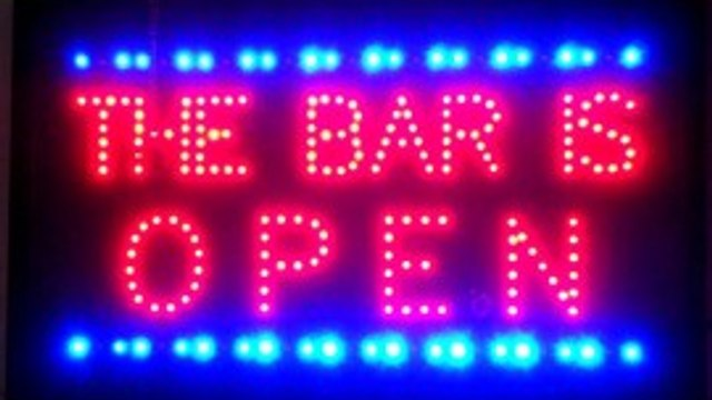 Club Bar Opening hours this week