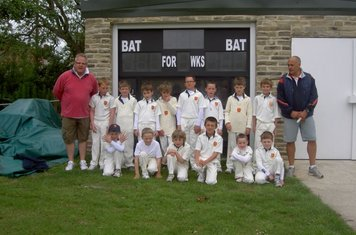 The Pumas and Panthers before their home game with Green Lane. Sunday 5th June 2011