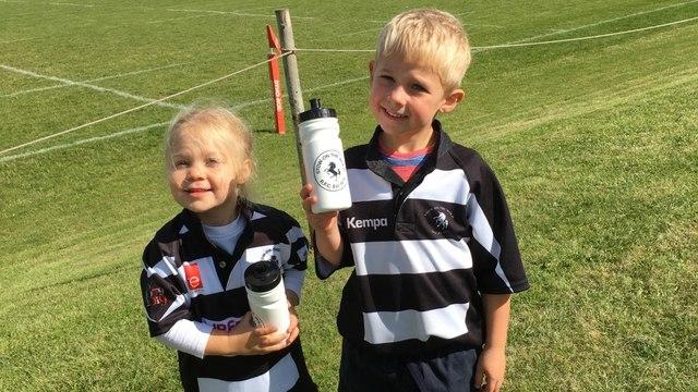 U7's rugby gets underway!