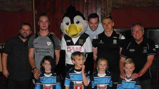 New kit for the U7's launched at presentation evening
