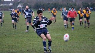 Foots Cray 20 v Combe Gents 15. Jan 29, 2011