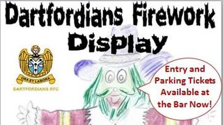 Fireworks at Darts 5th Nov...come and enjoy