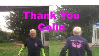 Colin Raises £200 to support Dartfordians Girls Rugby Team.