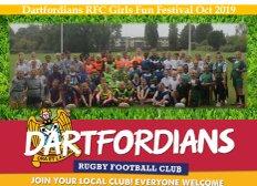 90 Girls attend Schools Fun Festival at Dartfordians