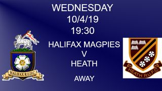 Halifax Magpies v Heath RUFC