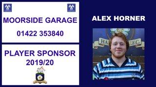 Moorside Garage to Sponsor Alex Horner