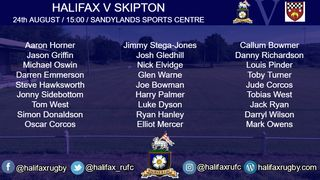 Halifax travel to Skipton for a Pre-season fixture