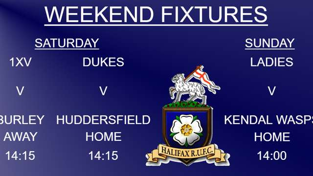 Halifax RUFC Weekend Preview 16/11/2019 (1xv, Dukes & Ladies)