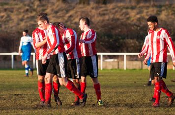 The equaliser is celebrated