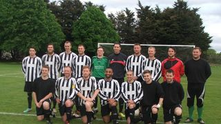 Border League Cup Final 7th May 2014 v Arlesford