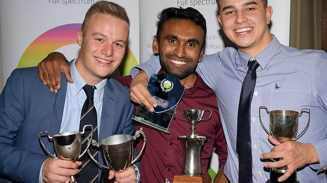 Newcomer Dillip named player of the year at South Devon CC awards evening