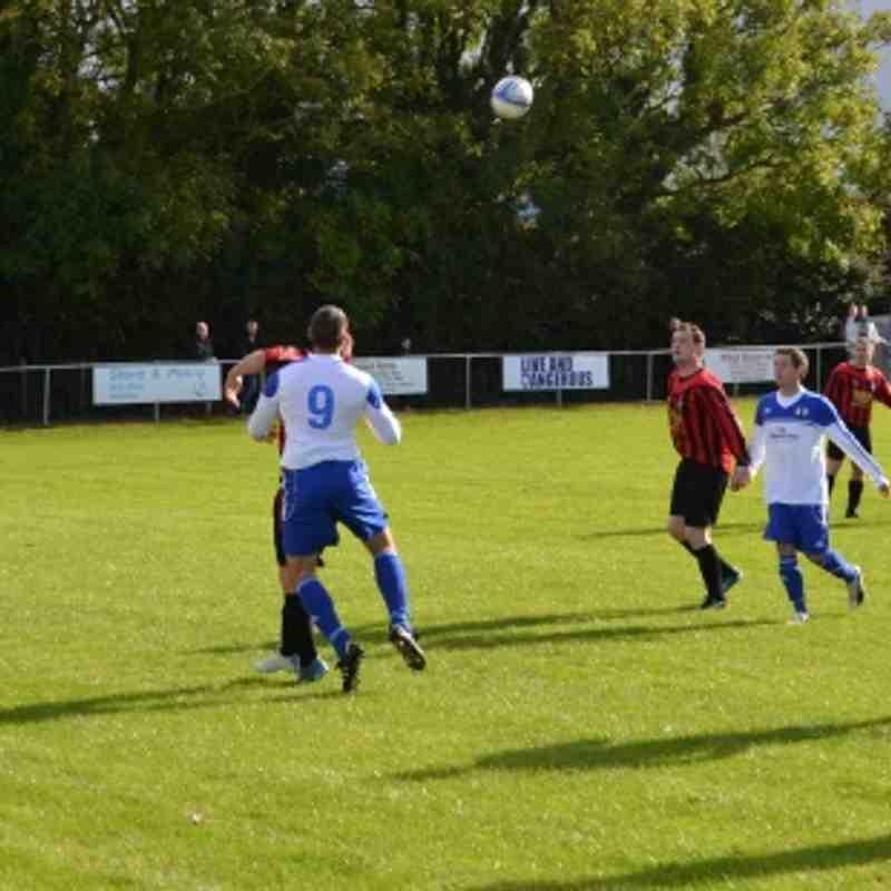 Bro Goronwy v Trearddur Bay United 13/10/12.