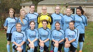 15.11.15 Newark Town Girls U16s v Nottingham Forest Ladies U16s