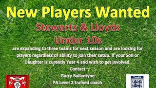 New Player for U10's Squad