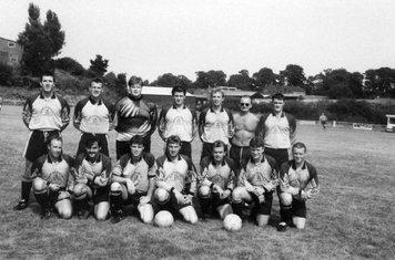 Ruthin Town at Cefn Druids, August 1995.