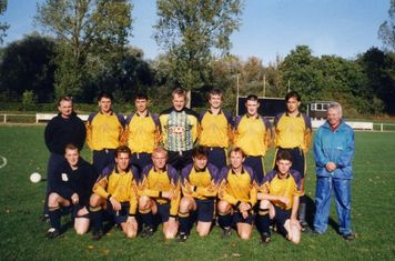 Ruthin Town at Oswestry, October 1995.