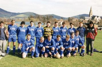 Ruthin Town youth teams 1995.