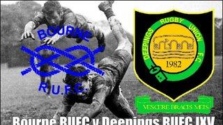 Bourne RUFC  v Deepings IXV