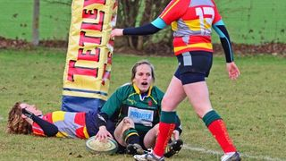 Deepings Devils 24 v Peterborough Ladies 5. 22nd January 2012.