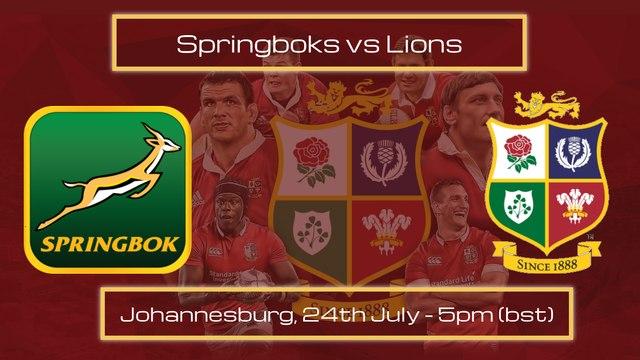 1st Test - Springboks vs Lions