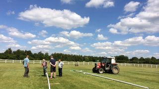 The Posts go up! and The Pitches Look Great! Well done Steve (Tank) White and gang!