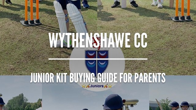 Parents Guide to Buying Equipment For WCC Juniors