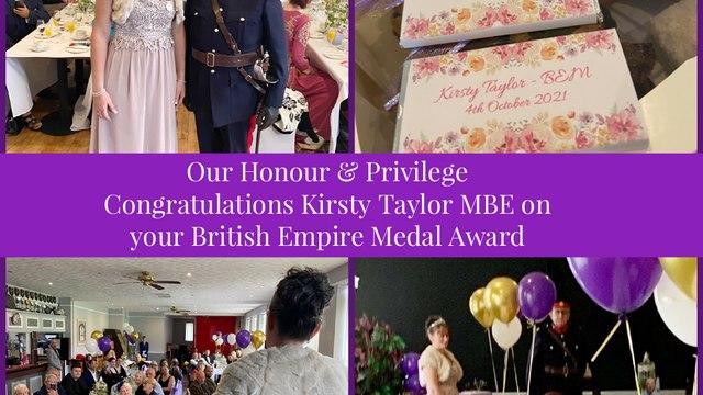 Our Honour & A Privilege