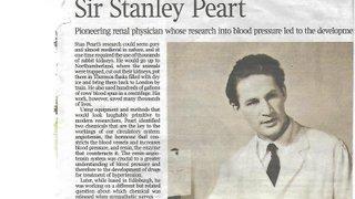 Sir Stanley Peart