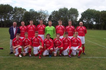 The firts team in there new kit