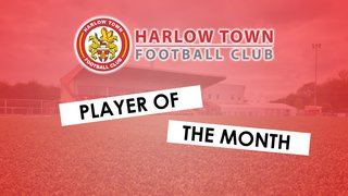 HTFC Player of the Month - September 2019